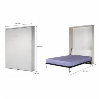 lits escamotables chambre literie armoire lit escamotable space couchage 140 cm profondeur. Black Bedroom Furniture Sets. Home Design Ideas
