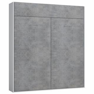 Façade gris béton