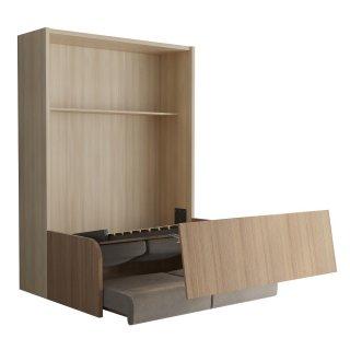 SPACE SOFA armoire lit escamotable 160cm canapé intégré