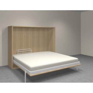 armoire lit escamotables au meilleur prix armoire lit transversale agata chene couchage 140 18. Black Bedroom Furniture Sets. Home Design Ideas