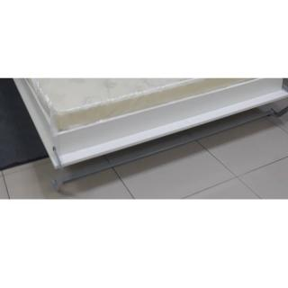 Armoire lit escamotable SMART-V2 chêne naturel couchage 160*200 cm.