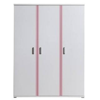 Armoire penderie ORION 3 portes blanche