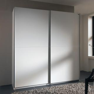 Dressing à portes coulissantes LIGHT 150 blanc