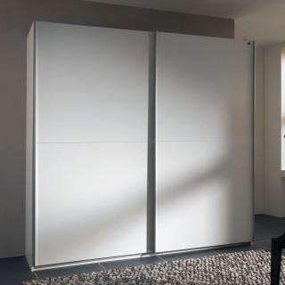 Dressing à portes coulissantes LIGHT 200 blanc