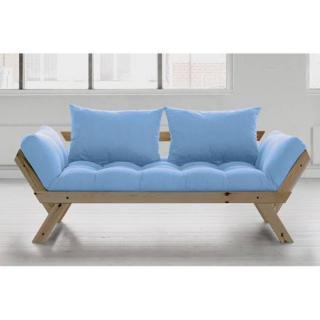 Banquette méridienne style scandinave futon celeste BEBOP couchage 75*200cm