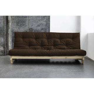 Canap convertible au meilleur prix banquette lit en pin massif fresh 3 places convertible - Banquette futon convertible ...