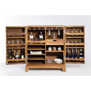bars meubles et rangements mini bar wood 2 portes inside75. Black Bedroom Furniture Sets. Home Design Ideas