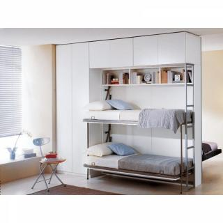 armoire lit escamotable combin bureau au meilleur prix armoire lit superpos s escamotable avec. Black Bedroom Furniture Sets. Home Design Ideas