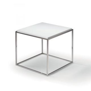 Bout de canapé carré MIMI chêne blanc