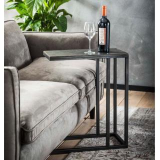 Bout de canapé DESK design noir