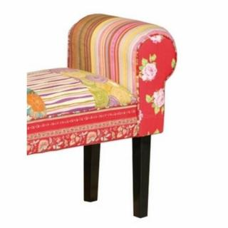 bancs meubles et rangements banc summerset en patchwork inside75. Black Bedroom Furniture Sets. Home Design Ideas