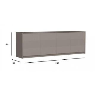 buffets bas meubles et rangements buffet bas password gr ge 4 portes inside75. Black Bedroom Furniture Sets. Home Design Ideas