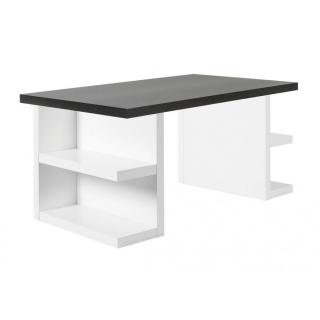 Bureau design MULTI STORAGE 180 x 90 wengé