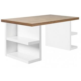 Bureau design MULTI STORAGE 160 x 90 noyer