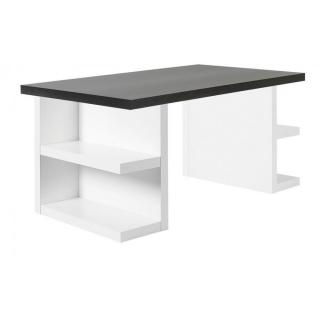 Bureau design MULTI STORAGE 160 x 90 wengé