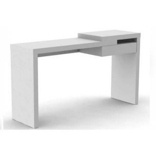 TemaHome REEF bureau design blanc mat avec tiroir