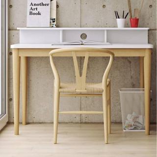 TemaHome bureau XIRA chêne avec plateau blanc