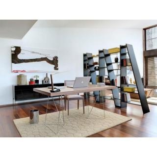Bureau design TRESTLES 180 x 90 chêne