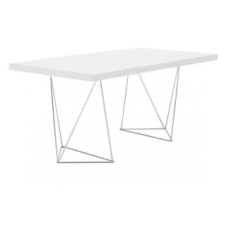 Bureau  design TRESTLES blanc