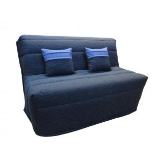 canap convertible bz au meilleur prix banquette bz convertible axel bleu marine couchage160. Black Bedroom Furniture Sets. Home Design Ideas