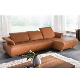 Canapé d'angle droite 2/3 places haut de gamme AVANTI de KOINOR 271cm dossiers réglables