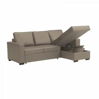 Canap s d 39 angle gigognes canap s ouverture express - Canape angle cuir taupe ...