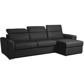 Canapé d'angle réversible EXPRESS CONVENTION matelas 16cm couchage 140cm