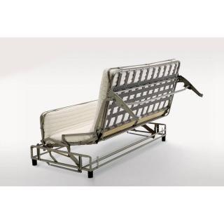 Canapé d'angle HIPSTER convertible express matelas 16 cm sommier lattes 140 cm gamme hôtellerie
