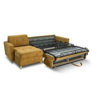 Canapé d'angle MEZZANO convertible EXPRESS 140 cm matelas 16 cm