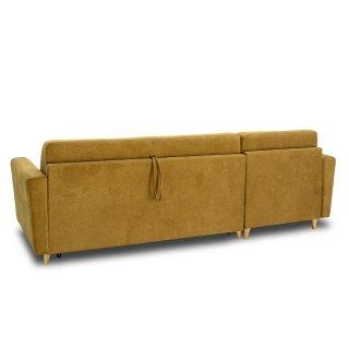 Canapé d'angle MEZZANO convertible EXPRESS 120 cm sommier lattes matelas 16 cm