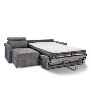 Canapé d'angle convertible EXPRESS VAUGIRARD couchage 140cm matelas 16cm
