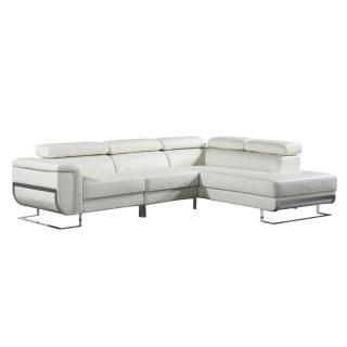 Canapé d'angle droite fixe MISANO