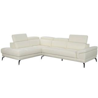 Canapé d'angle gauche fixe LIDO