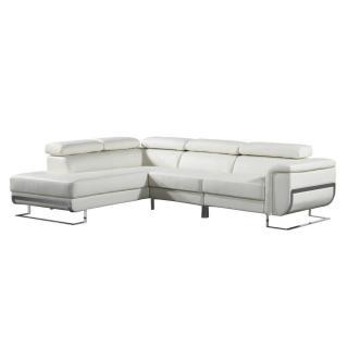 Canapé d'angle gauche fixe MISANO
