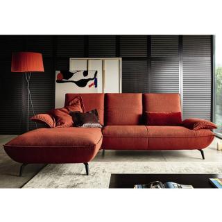 Canapé d'angle gauche 2/3 places haut de gamme FLY de KOINOR 293cm dossiers et accoudoirs réglables
