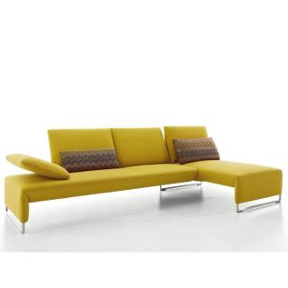 Canapé d'angle droite 3/4 places haut de gamme RAMON de KOINOR