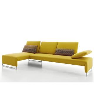 Canapé d'angle gauche 3 places haut de gamme RAMON de KOINOR