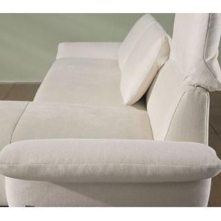 Canapé d'angle gauche 3 places haut de gamme VITTORIA de KOINOR dossiers et accoudoirs réglables