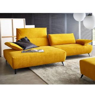 Canapé d'angle gauche haut de gamme VOLTA de KOINOR 306cm dossiers et accoudoirs réglables