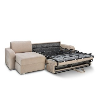 Canapé d'angle convertible express 160 cm SOFIA matelas 16 cm