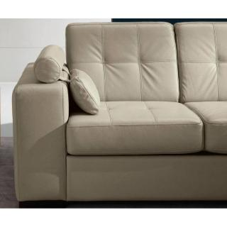 Canapé d'angle gigogne convertible express TORONTO méridienne gauche