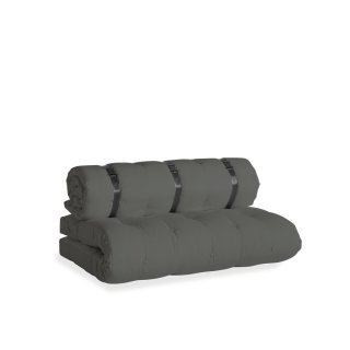 Canape Bed d'extérieur convertible HARRIS couleur Gris Anthracite