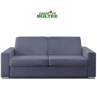 Canapé convertible express MUST matelas 140cm comfort BULTEX® 16cm sommier lattes RENATONISI