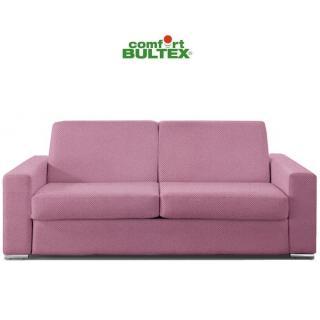 Canapé convertible express MUST matelas 160cm comfort BULTEX® 16cm sommier lattes RENATONISI