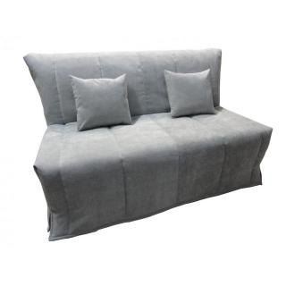 canap convertible au meilleur prix canap bz convertible flo gris clair 160 200cm matelas. Black Bedroom Furniture Sets. Home Design Ideas