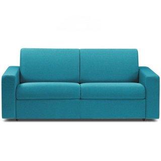 Tissu tweed bleu turquoise