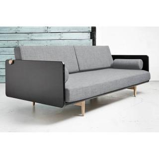 Canapé lit style scandinave DEVA couchage 100*200cm