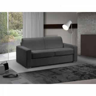 Canapé lit 3 places MASTER convertible EXPRESS 140 cm microfibre gris graphite, MATELAS 18 CM INCLUS.