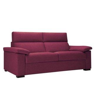 Canapé Convertible express ALBINA 140 cm déhoussable matelas 14 cm Encombrement ouvert : 206 cm