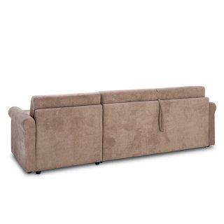 Canapé d'angle ROMANTICO convertible EXPRESS 140cm matelas 16cm